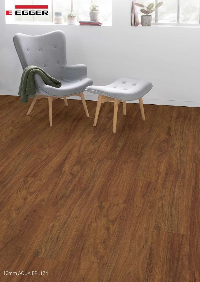 Sàn gỗ Egger Aqua 12mm EPL174