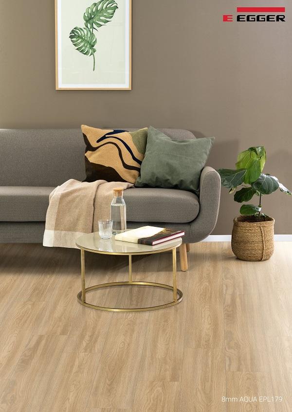 Sàn gỗ Egger Aqua 8mm EPL179